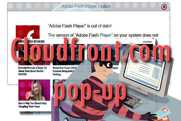Cloudfront.com pop-up